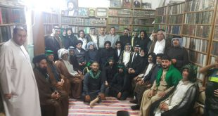 صور من سید علي المریاني مع جمع من السادة بني جمیل الموسویة