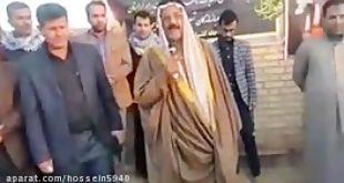 استقبال السادة المگادمة بني جمیل الموسویة من الاهواز لأبناء بنو عمومتهم من العراق