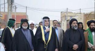 تشرف قبیلة السادة بني جمیل الموسویة بدعوة ابناء عمومتهم السّادة بیت عبّار المندیل